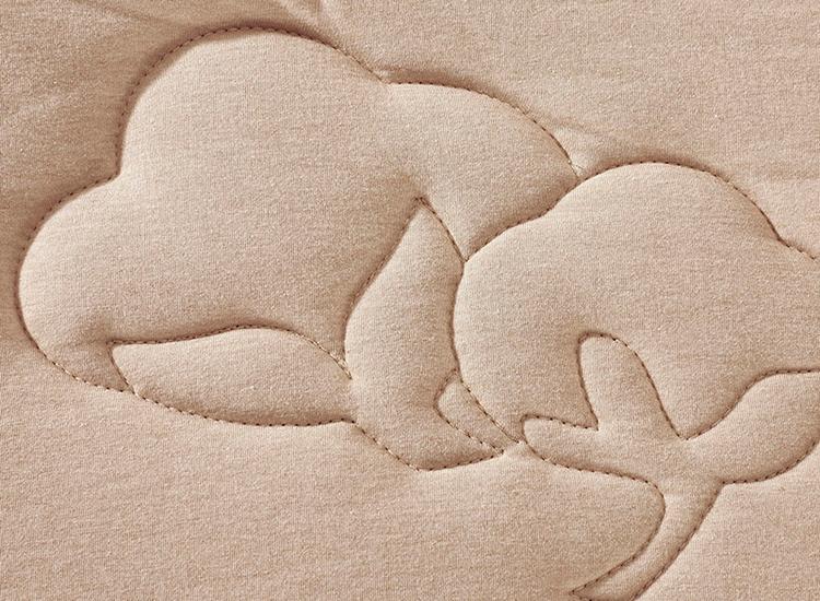 彩棉冬被花纹